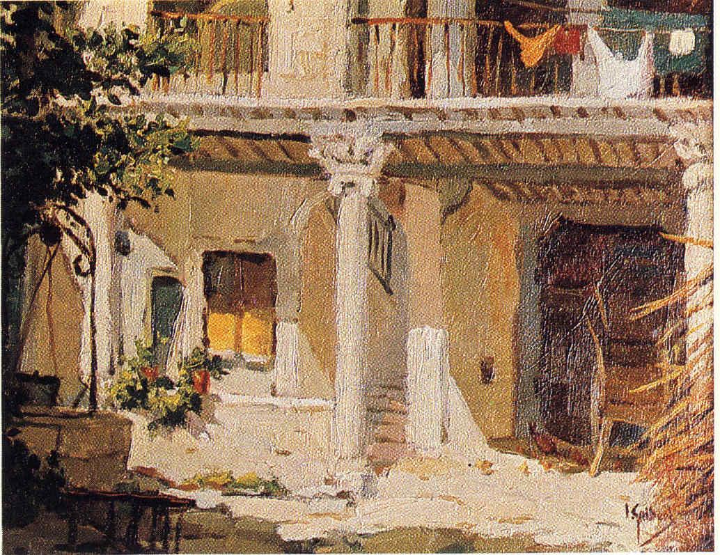 Ignacio Guibert Madrid y Pamplona Pintores navarros 20 Pintura 154