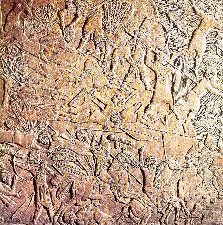 La construcción en Mesopotamia Las guerras