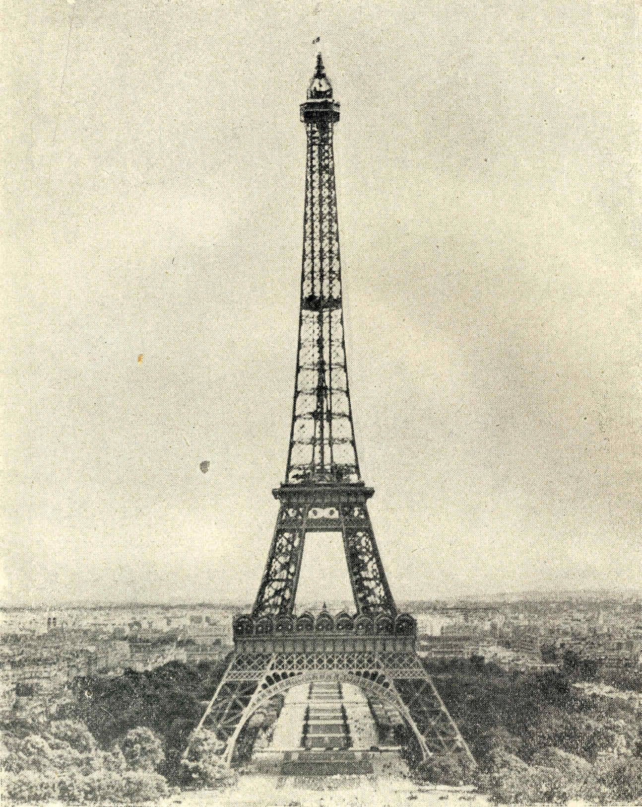 París 75 Boulanger al poder Fin del affaire Birmarck Eiffel