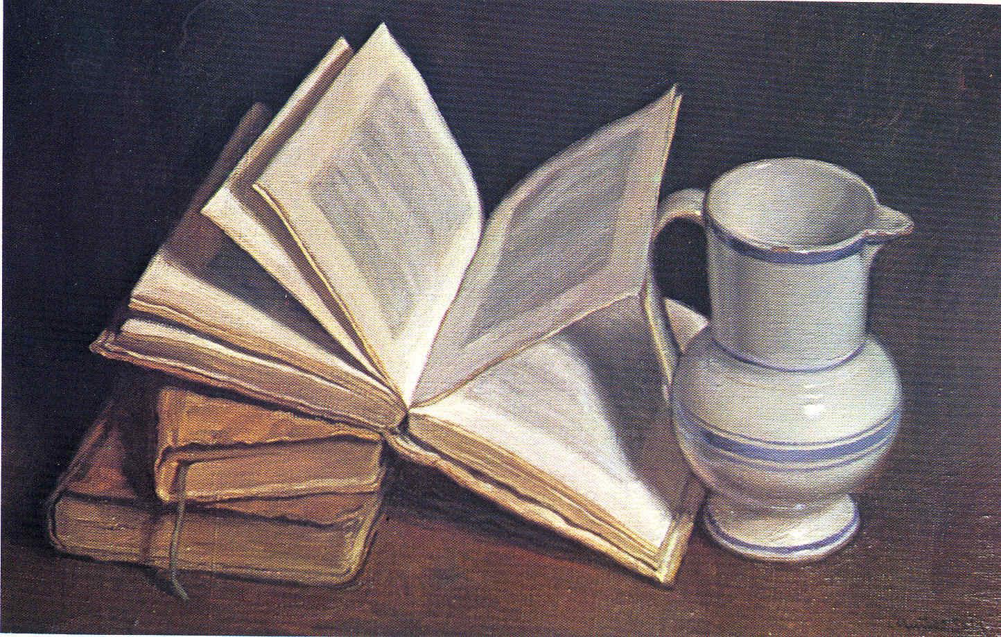 César Muñoz Sola Bodegones Pintores navarros 7 La Pintura 141