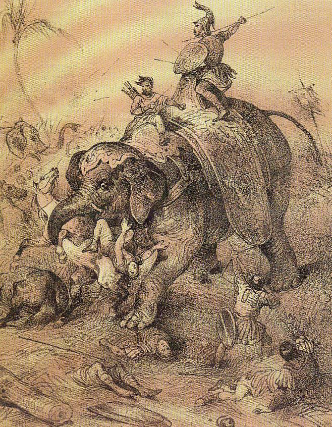 Los Diadocos y la muerte de Eumenes