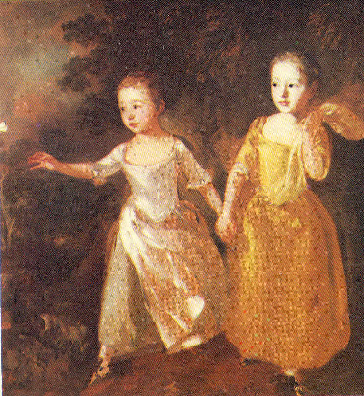 El retrato Gainsborough y Fragonard La Pintura 108