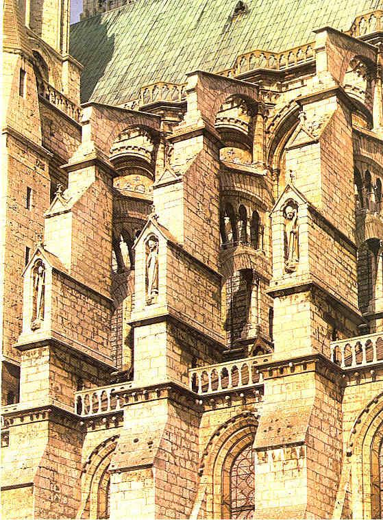 Techos de Catedrales Italia Francia y España La Pintura 115