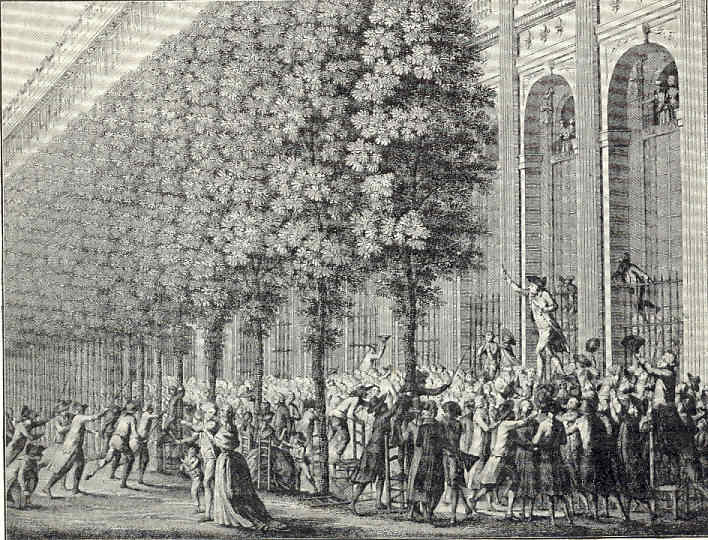 París 40 Necker cesado Toma de la Bastilla Primeros exilios