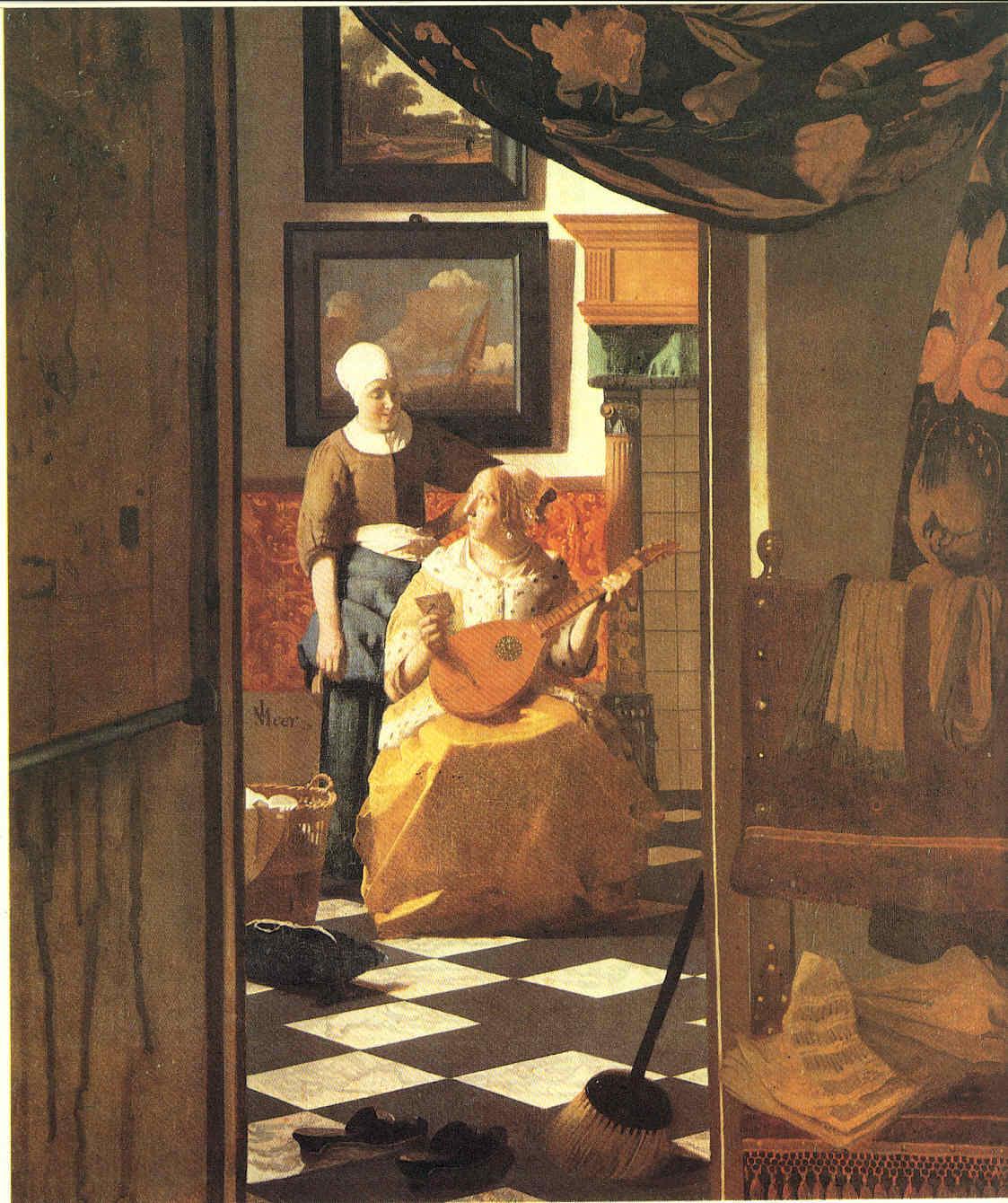 Jan Vermeer y su mejor logro La Pintura 107