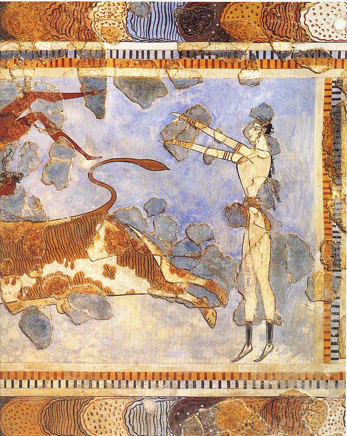Pintura 3 Los minoicos