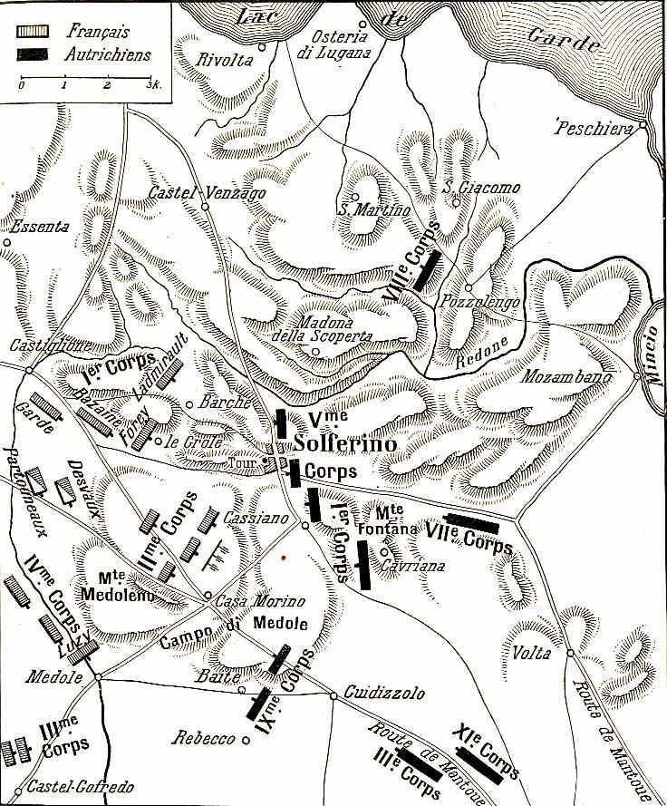 París 65 Mosaico italiano Atentados Guerra contra Austria Solferino