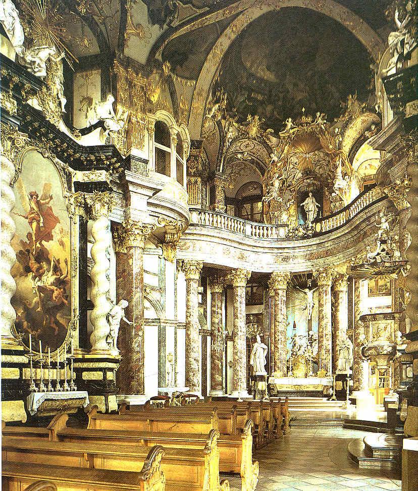 Blenheim Palace París Viena y Wurzburgo barrocos La Pintura 128