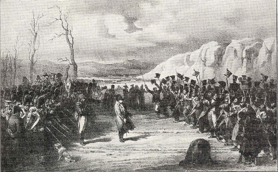 París 57 1815 Grasse Laffrey Cien días Waterloo