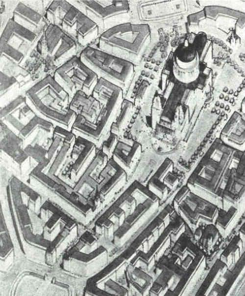 Paternoster Row en 1900