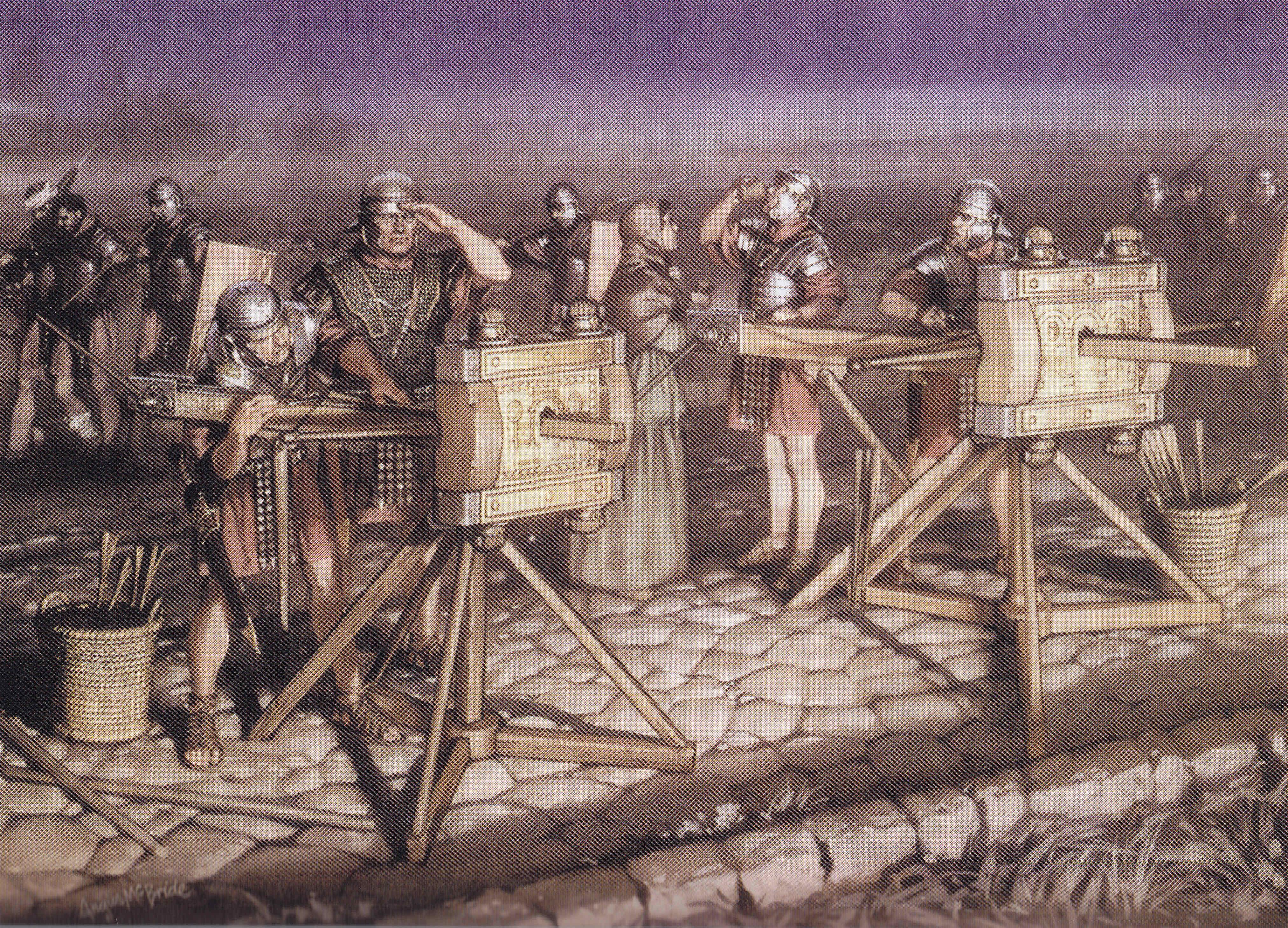 Egipto Antiguo 144 Planteamiento del sitio de Alesia