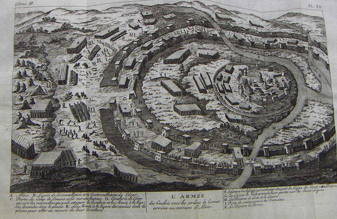 Egipto Antiguo 143 El sitio de Alesia Fase segunda