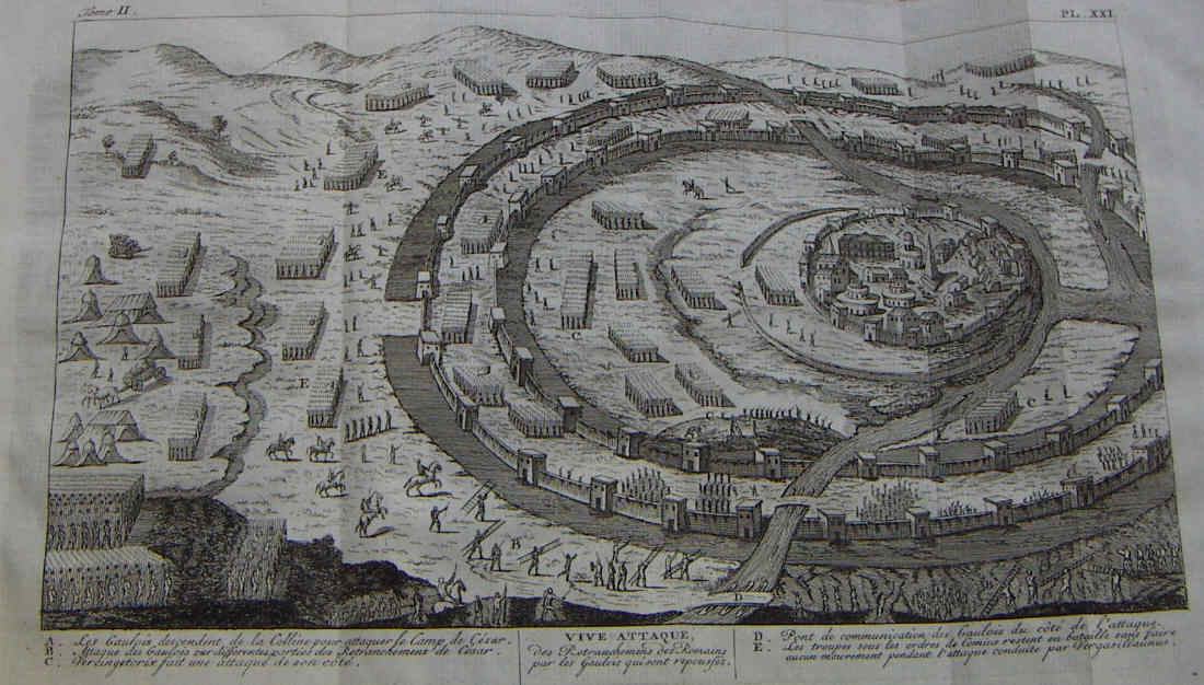 Egipto Antiguo 145 El sitio de Alesia Fase final