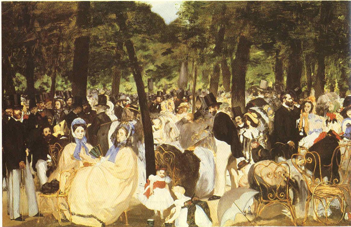 La Pintura 59 Los principios del dandy Manet