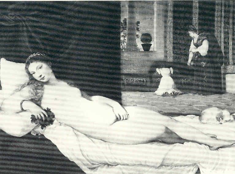 La Pintura 60 Manet Su Maja Desnuda Olimpia Victorine Louise Meurent