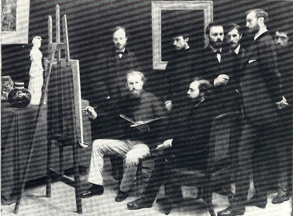 La Pintura 62 Manet sus amigos y sus cuadros íntimos