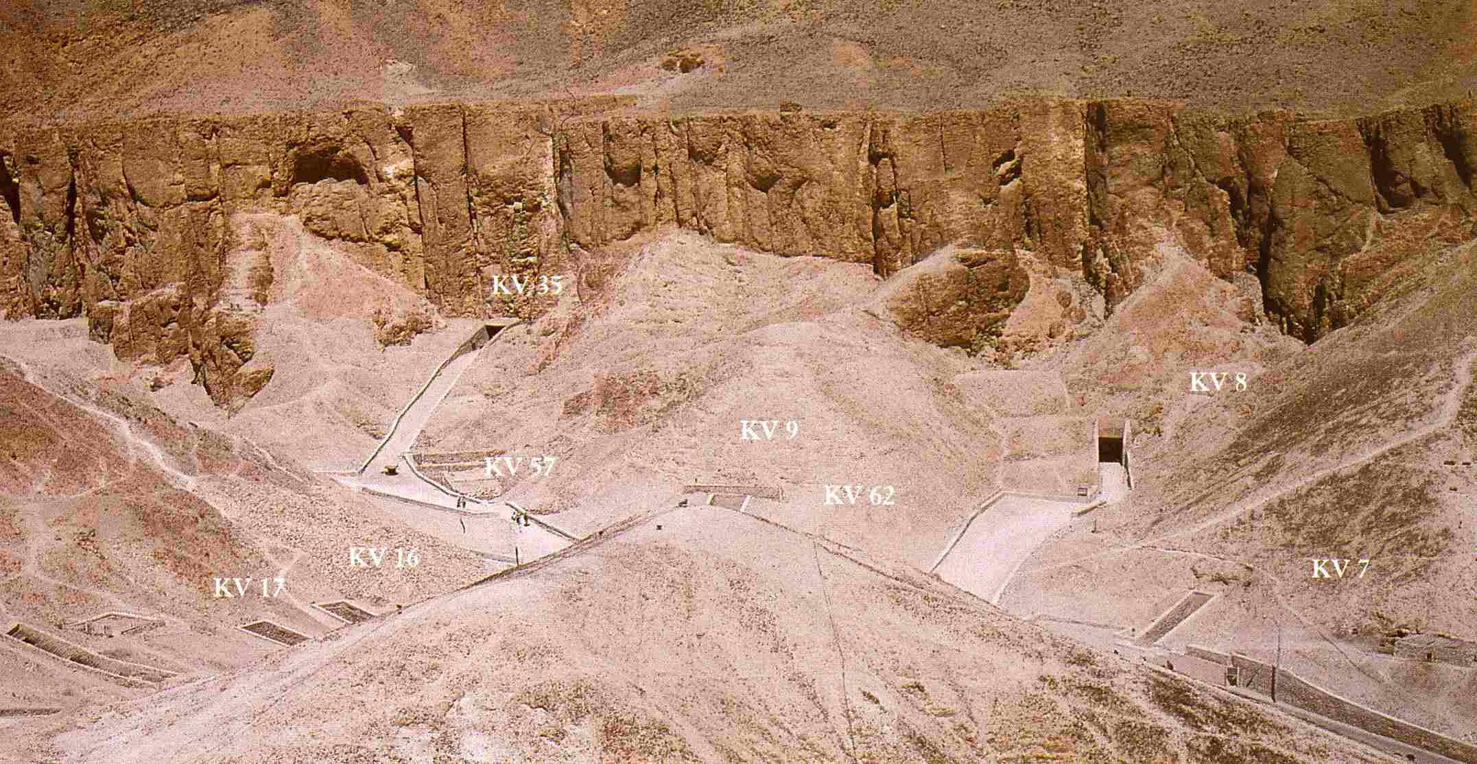 El Valle de los Reyes a