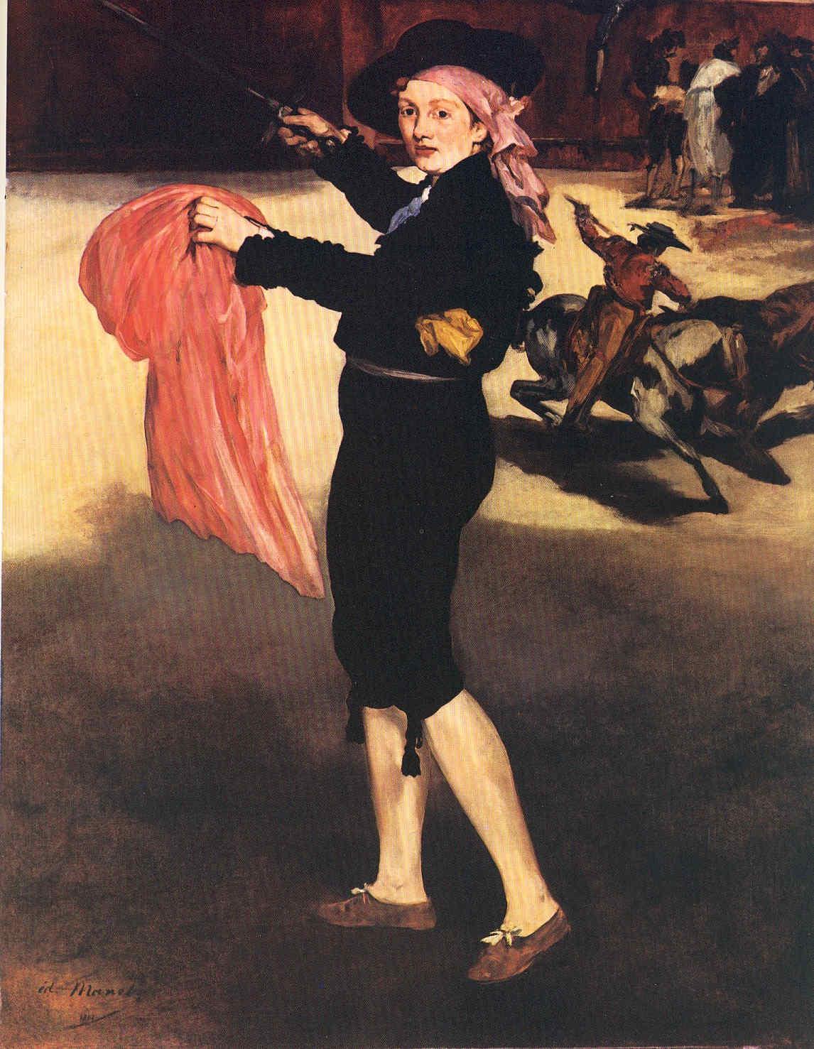 La Pintura 56 Manet el líder del grupo