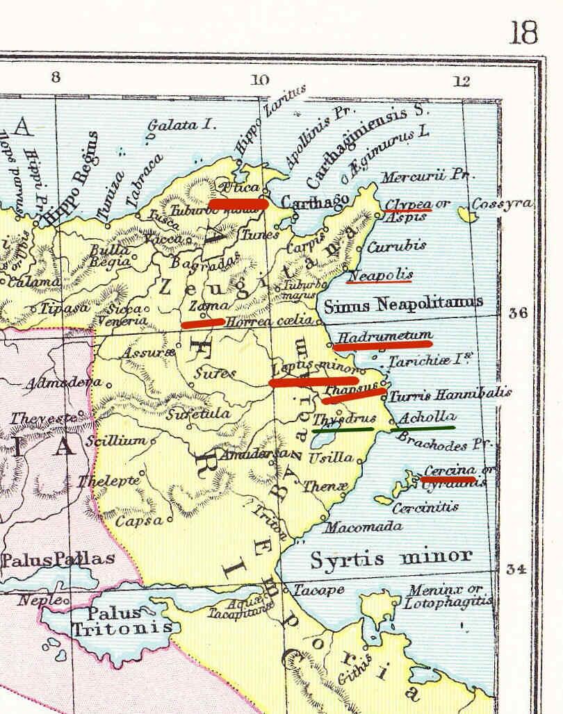 Egipto Antiguo 133 Onagros y legionarios con Cesar en Africa