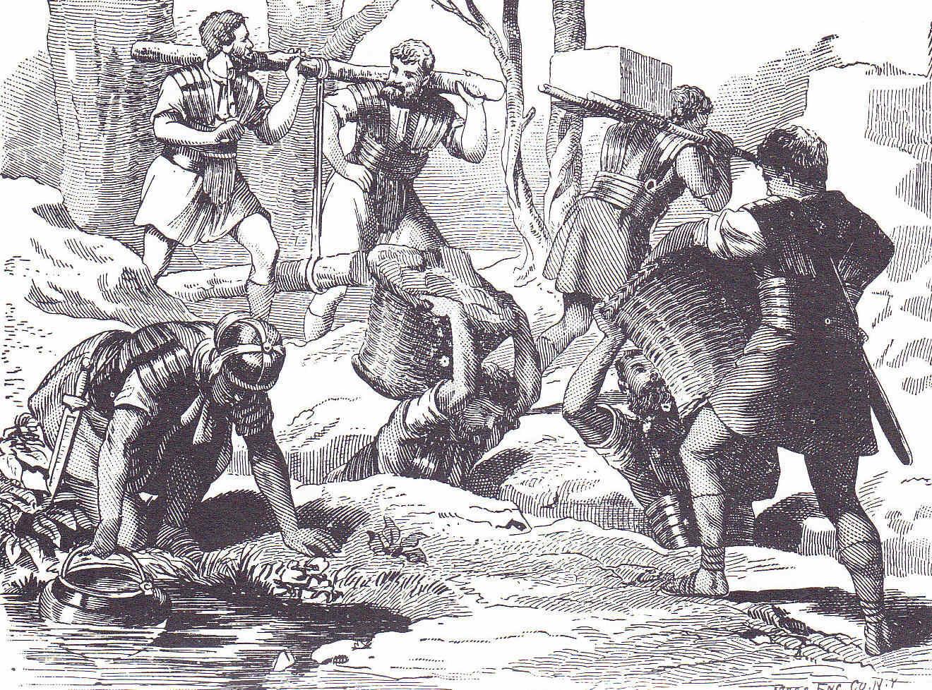 Egipto Antiguo 131 Planteamiento de la guerra en África