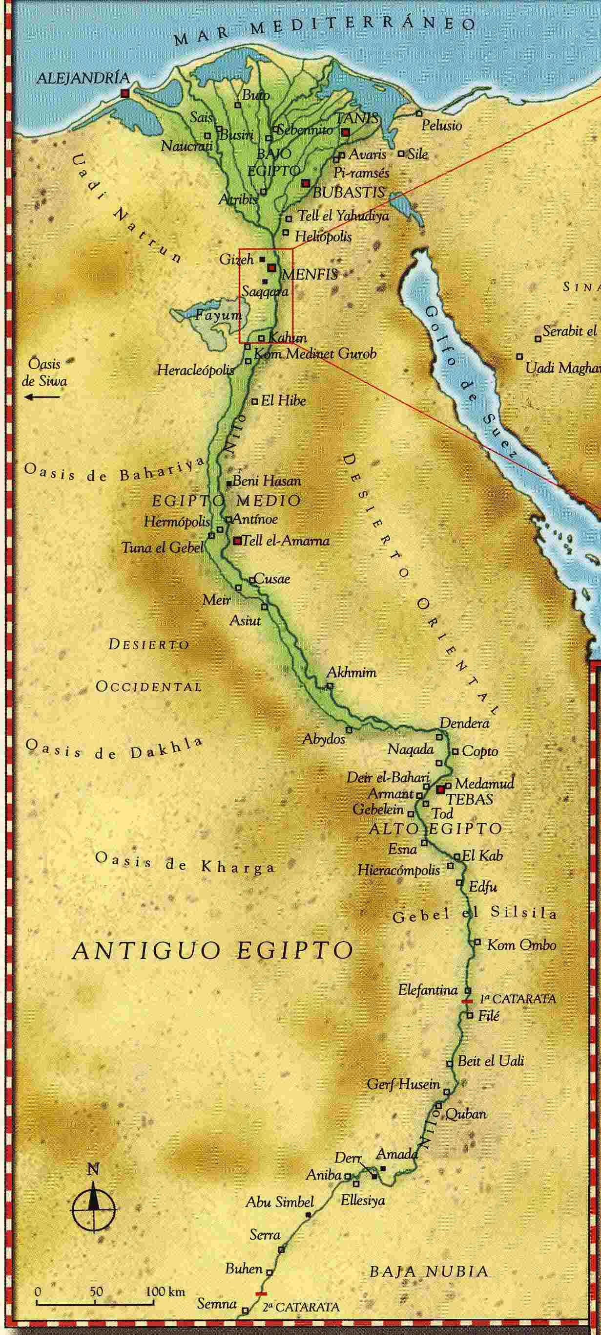 La vida en el antiguo Egipto Dinastía 11 a