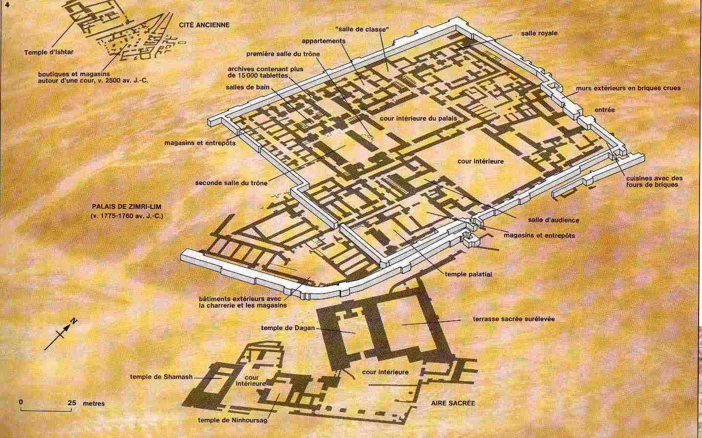 La vida en el antiguo Egipto Palacios