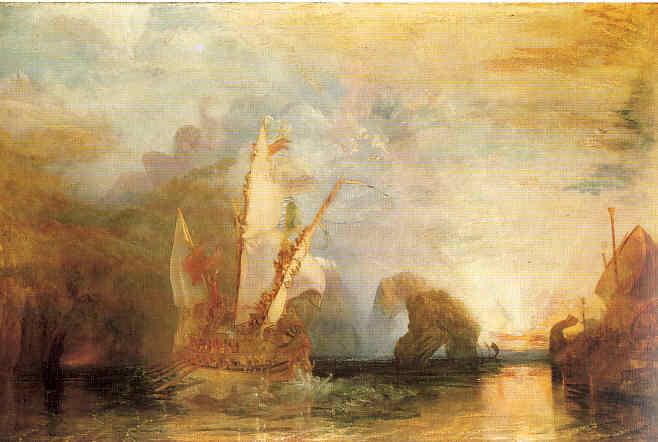 La Pintura 41 Turner Horas de gloria