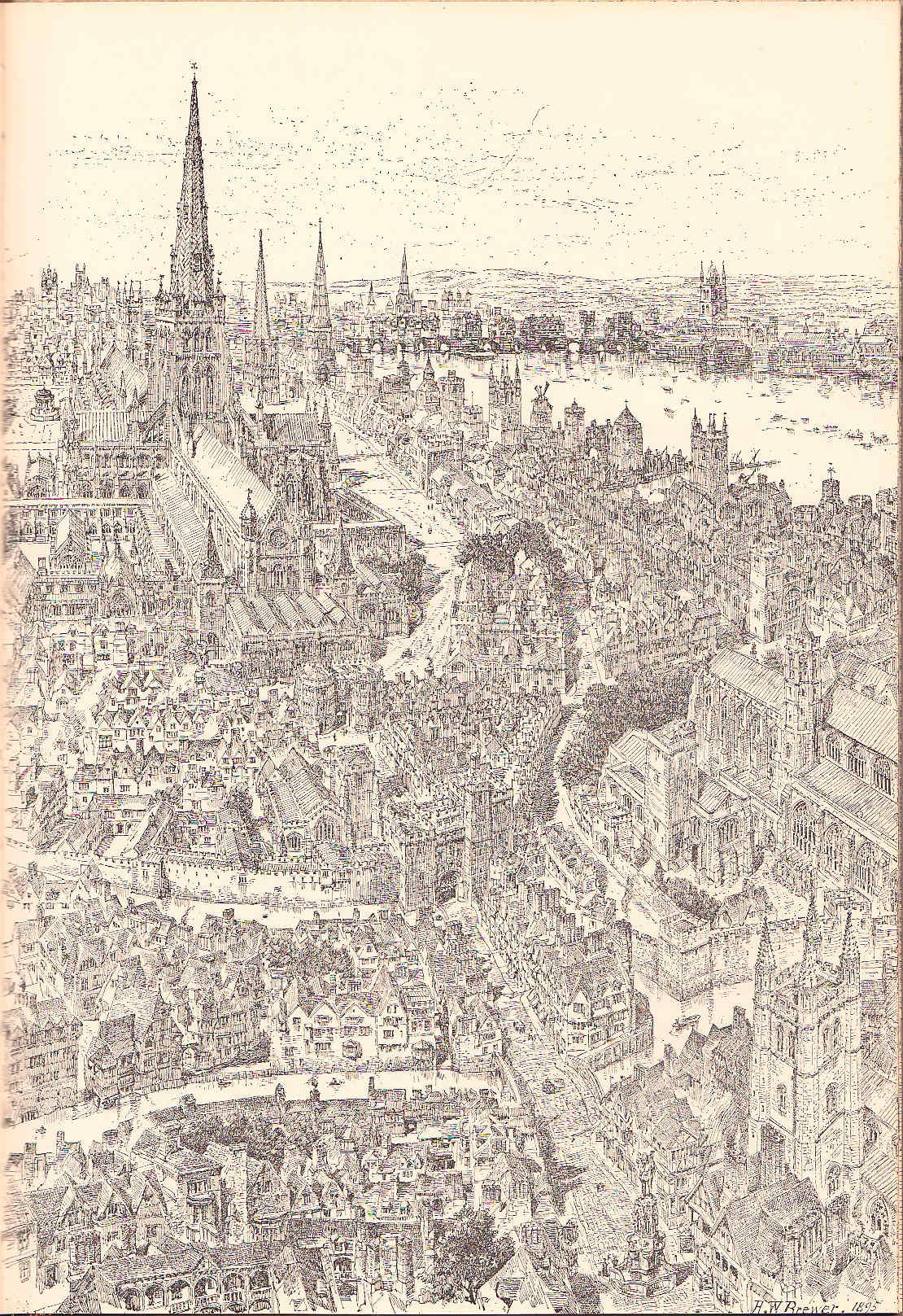Paternoster Row en 1540