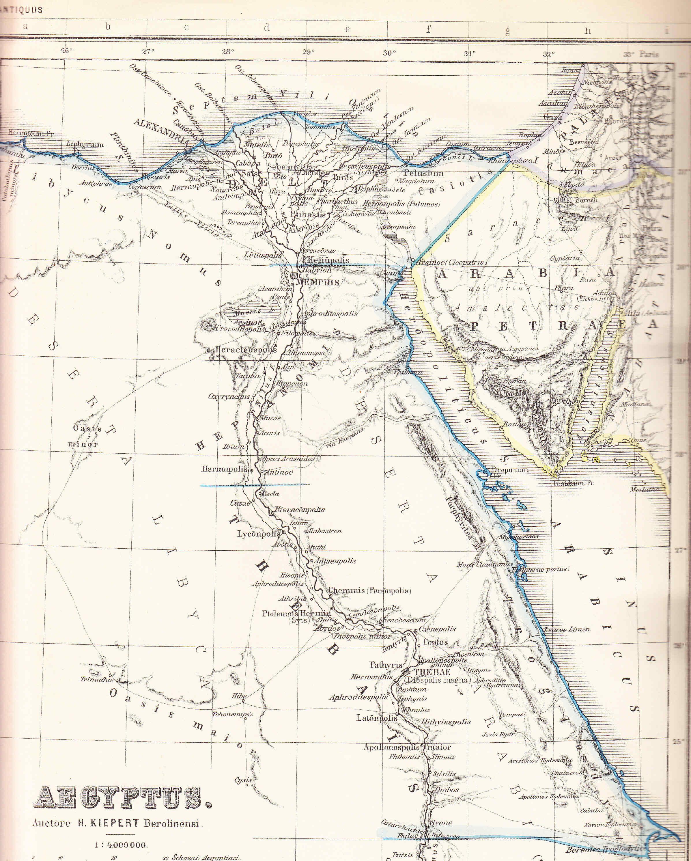 Egipto Antiguo 122 nacimiento de Cesarion y viaje de bodas