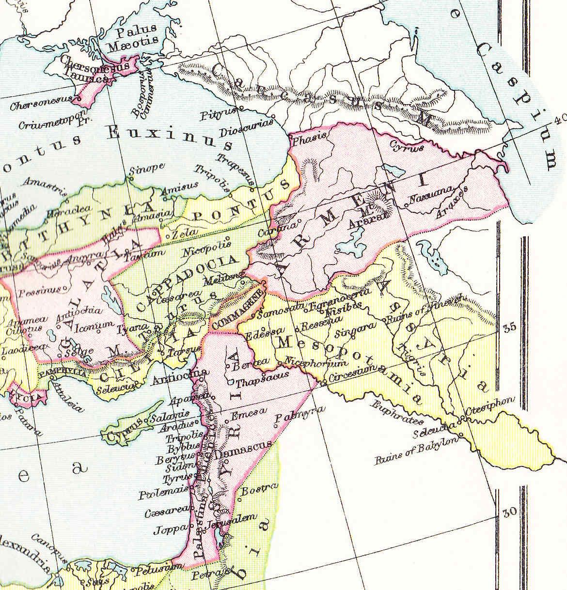 Egipto Antiguo 124 Julio César abandona Egipto camino de Siria