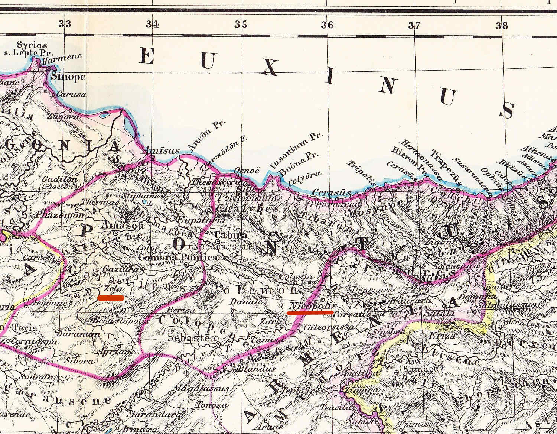 Egipto Antiguo 125 Julio César y Farnaces en la Cólquida