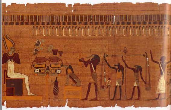 Los dioses egipcios y la muerte a