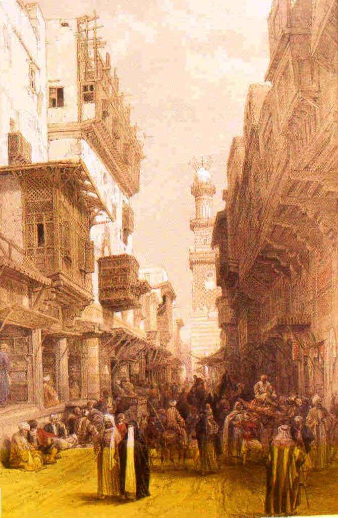 David Roberts en Egipto