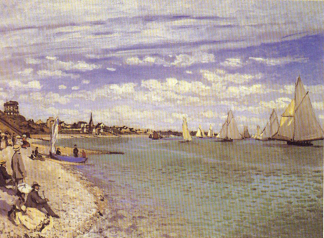 El golpe de timón de Claude Monet La Pintura 169