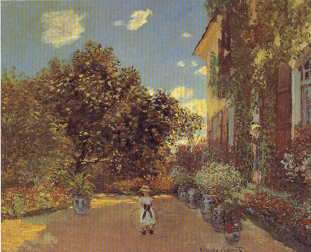 Claude Monet 1872 y 1873 en Argenteuil  Pintura 172