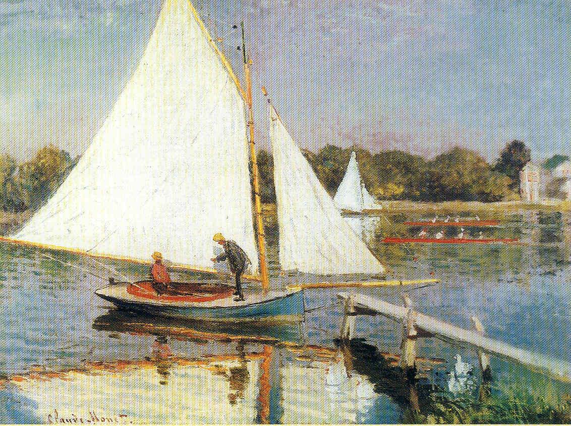 El período dorado de Argenteuil nteuil Claude Monet 8 Pintura 173