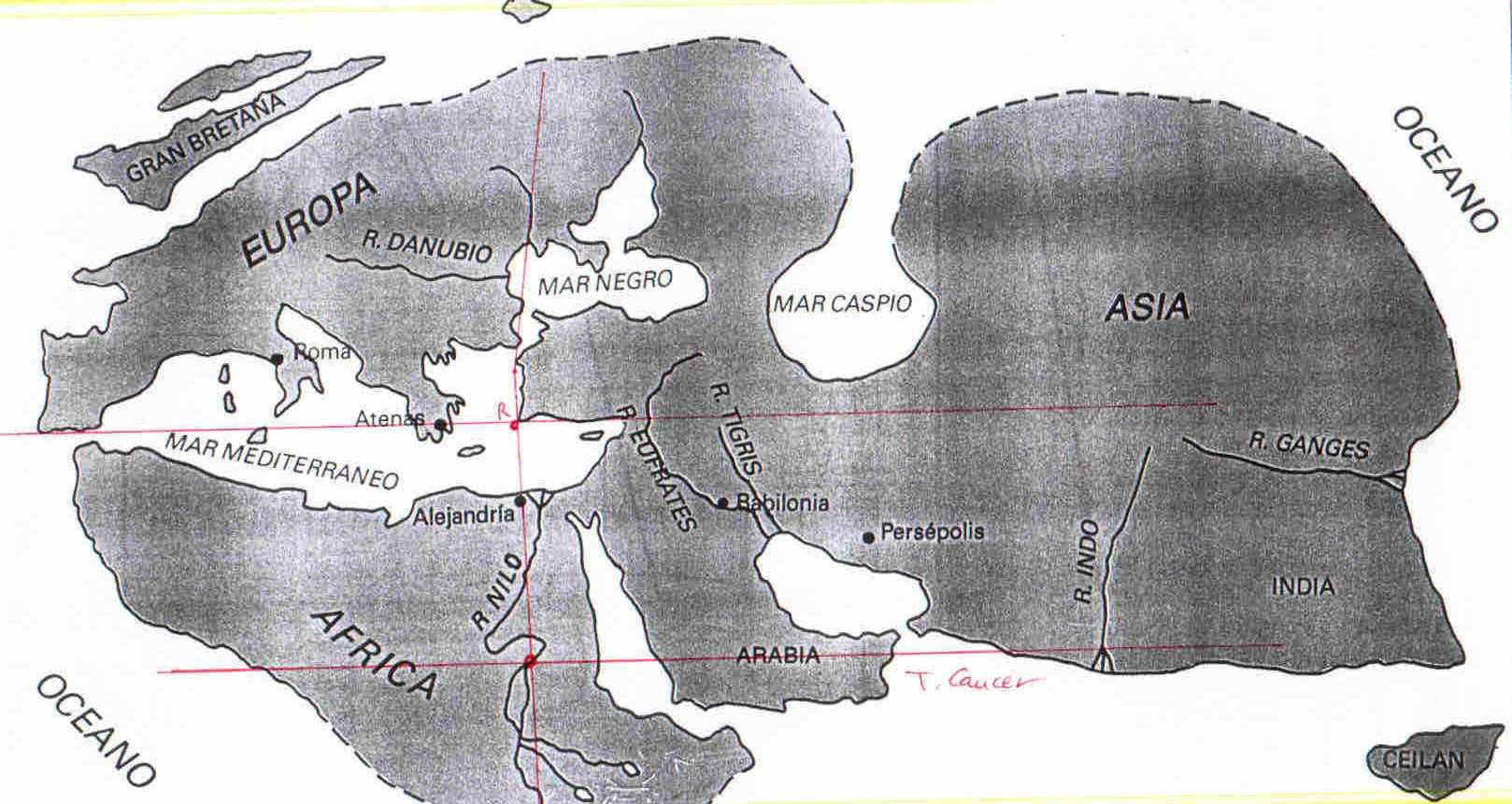 Posidonio de Apamea y la estrella