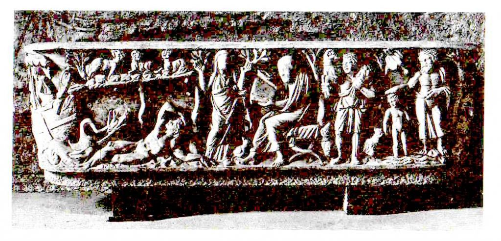 El cuento de los papiros neo-testamentarios datados. Sarcófago judío antiguo.