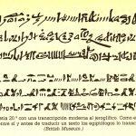 Champollion y la piedra Roseta