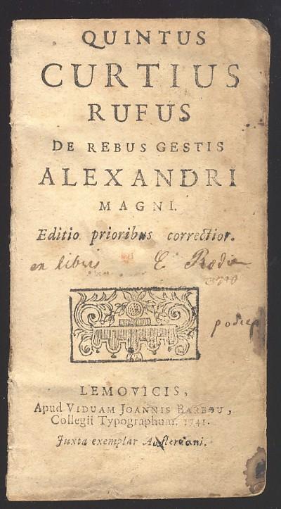 Alejandro generosidad y muerte