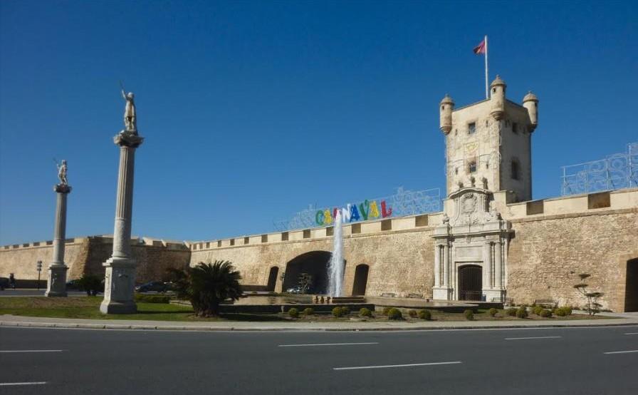 Plazas fuertes Fuenterrabía San Sebastián y Cádiz