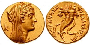 Egipto antiguo 13 y Arsínoe II, 2