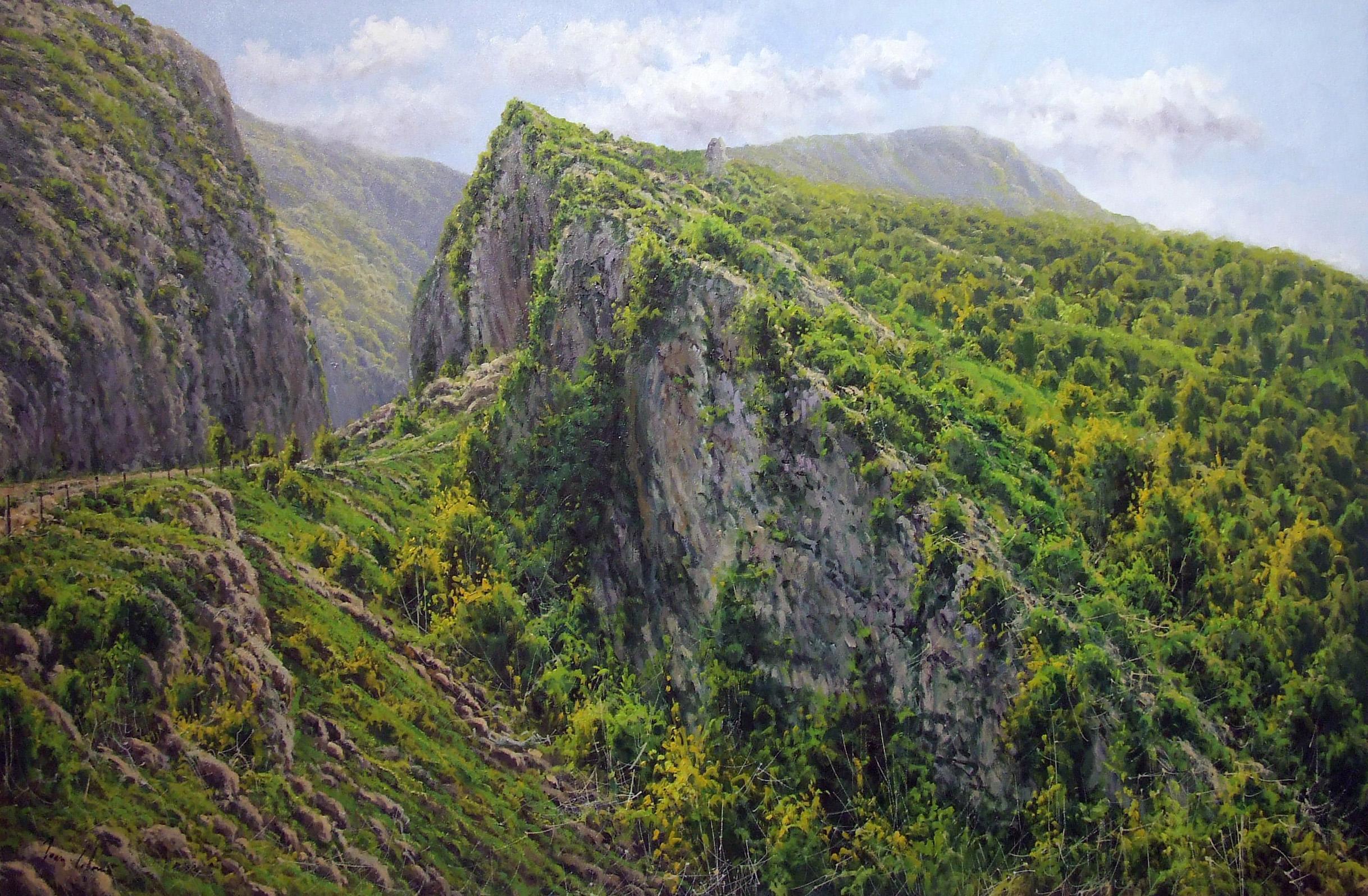 Los caminos de Joan Coloma en Potes Agosto 2011
