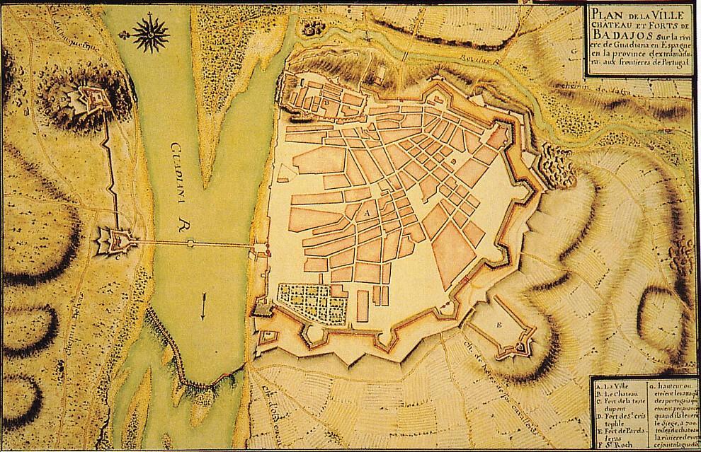 Badajoz en tiempos de Napoleón