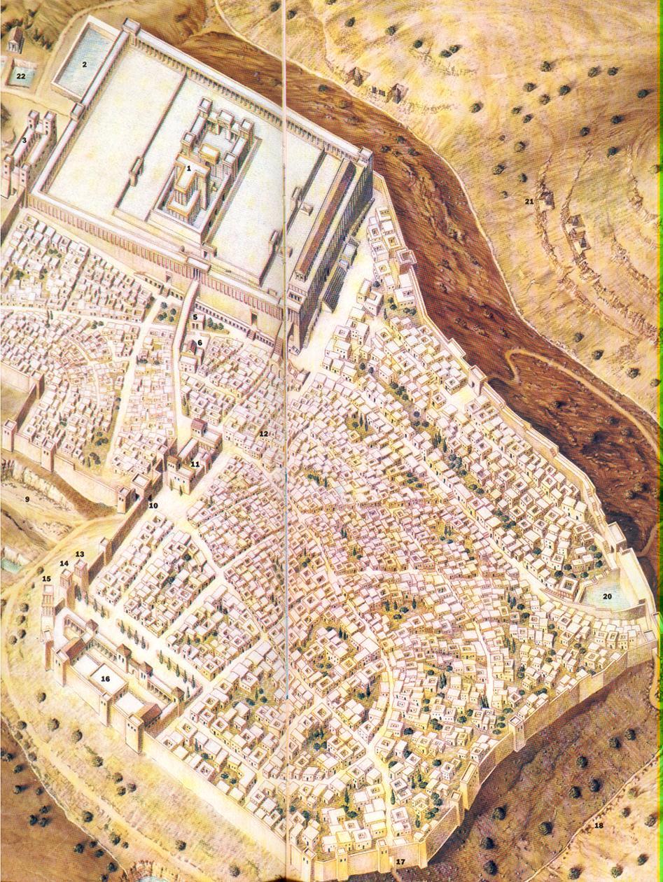 Jerusalem antes de 1500 Mundo helenístico 48
