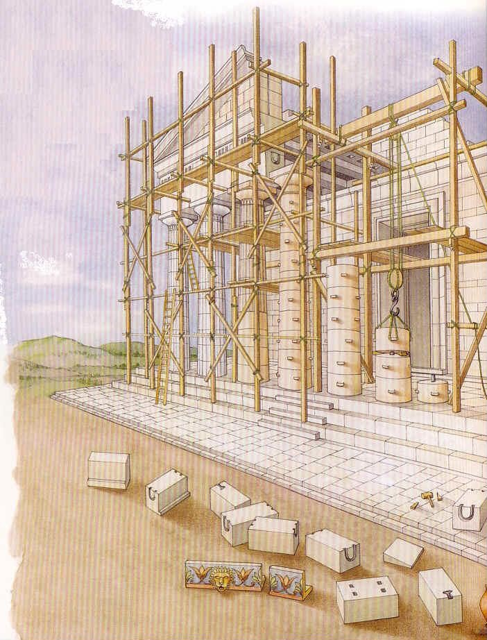 La construcción 5 en la Grecia clasica 74