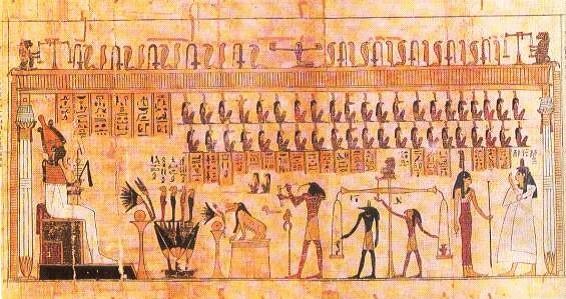 Los dioses egipcios y la muerte b