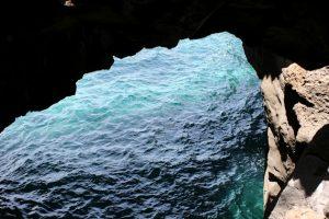 La cueva interior