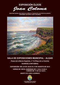 Exposición de Joan Coloma en Suances Cantabria