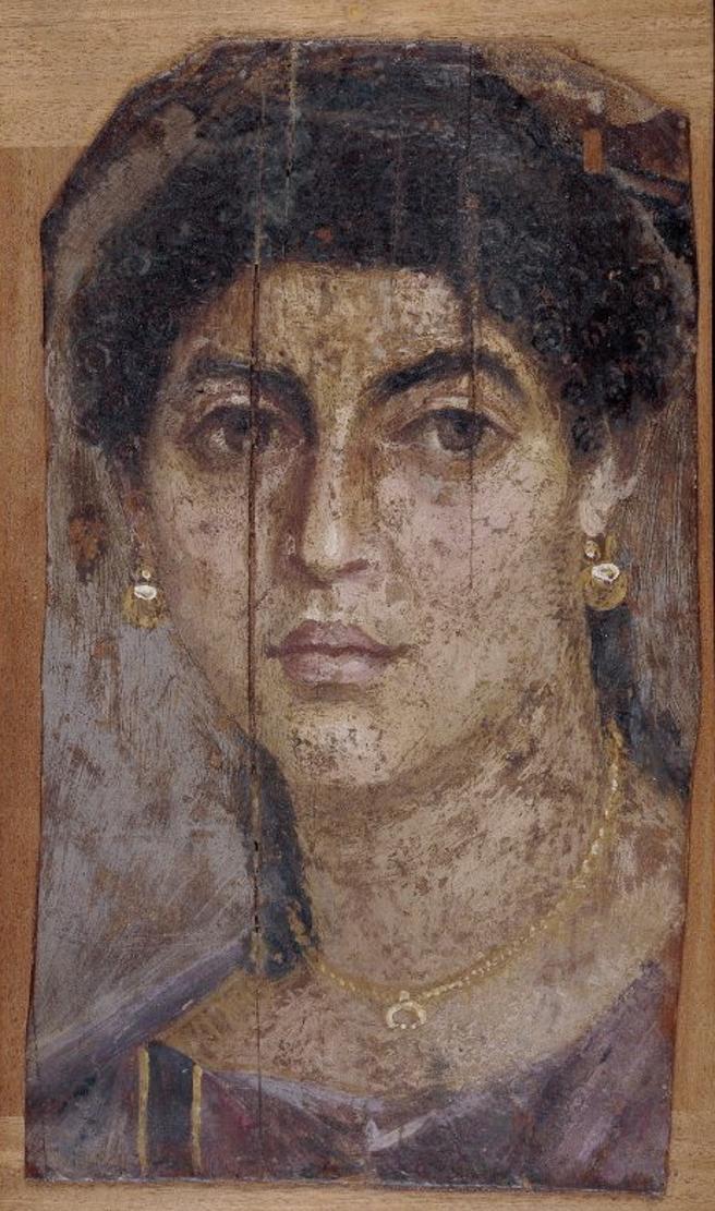 Retratos de El Fayum Las fotos del antiguo Egipto